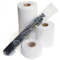 "3"" Clear Layflat Polythene Poly Tubing 500 Gauge"